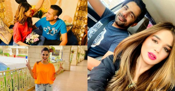 Latest Clicks of Actress Zohreh Amir With Husband