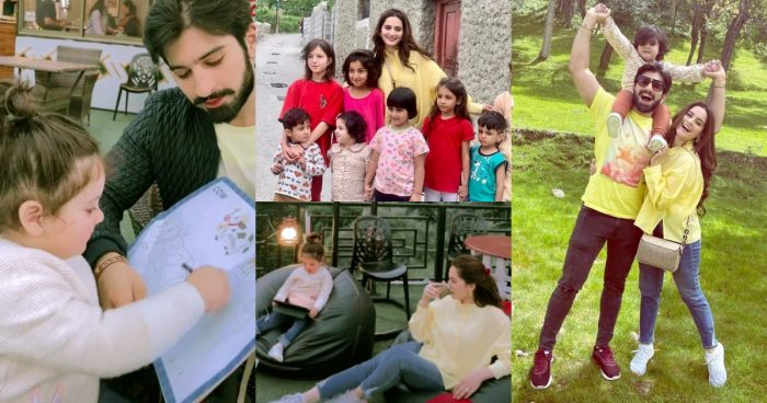 Aiman And Muneeb with Daughter Amal Enjoying Vacation in Hunza