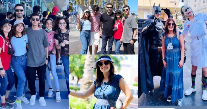 Director Wajahat Rauf with his Family Vacationing In California