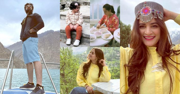 Aiman Khan And Muneeb More Pictures From Hunza