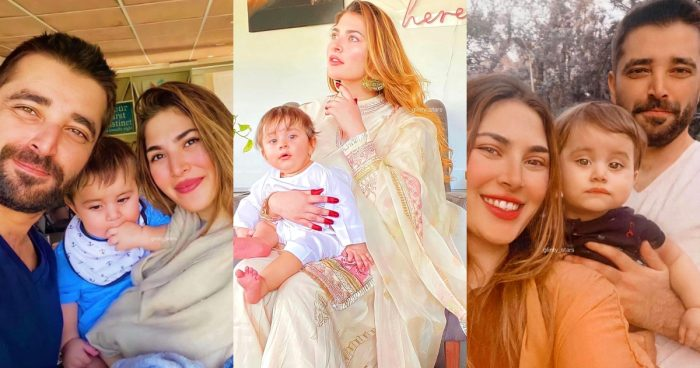 10 Adorable Pictures Of Hamza Ali Abbasi with his Family