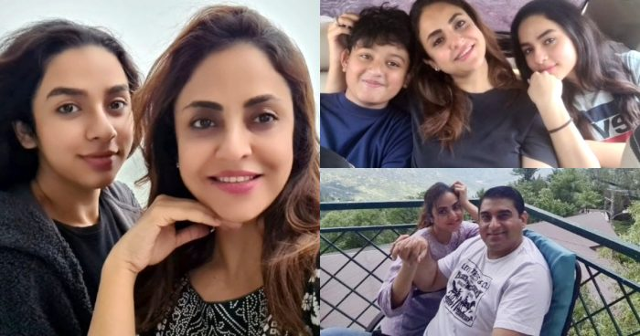 Nadia Khan's Trip to Murree with her Family – Pictures and Video