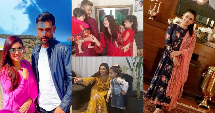 Beautiful Family Pictures of Muhammad Aamir