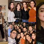 Celebrities Spotted at Wajahat Rauf Home for Birthday Party