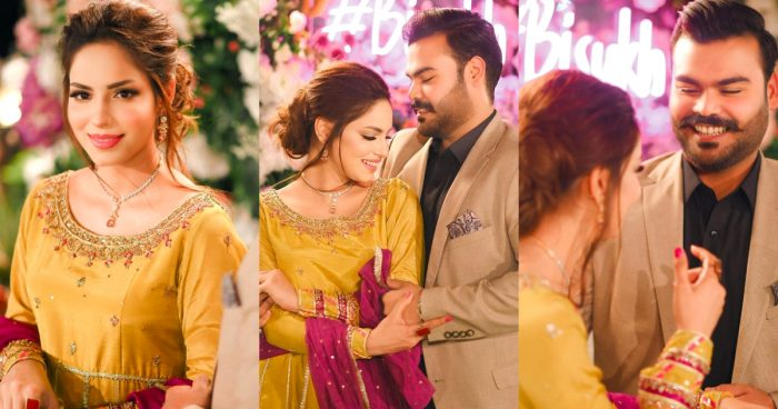 Actress Sukynah Khan's Engagement Beautiful HD Pictures and Video