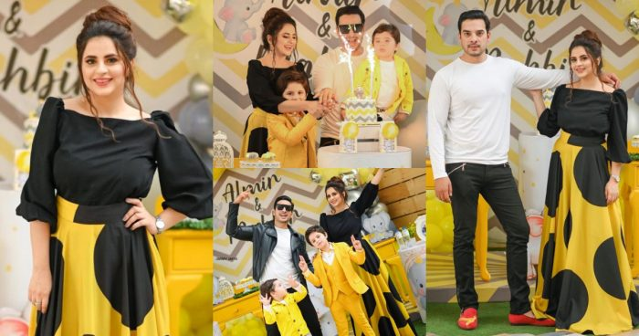 Fatima Effendi and Kanwar Arsalan Sons Birthday Party Pictures
