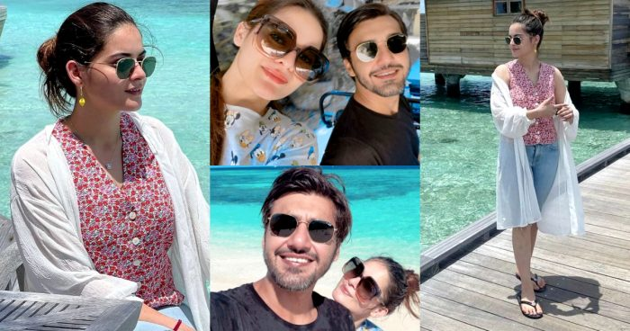 Minal Khan And Ahsan Mohsin Honeymoon Pictures – Day 2
