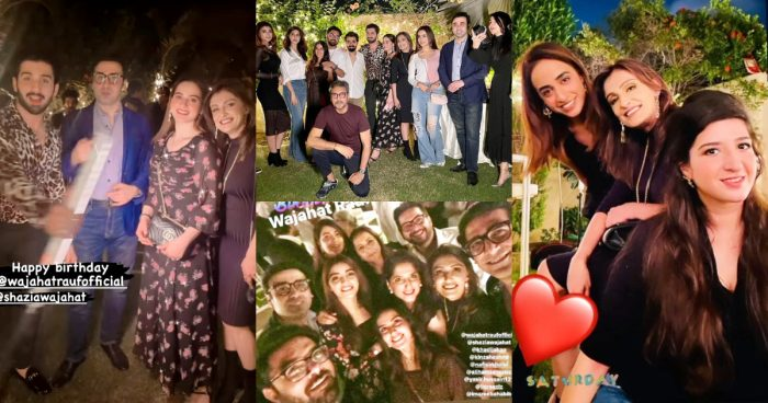 Celebrities Spotted At Director's Wajahat Rauf's Grand Birthday Party