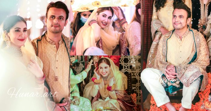 Usman Mukhtar And Zunaira Inam's Mayun HD Pictures And Video
