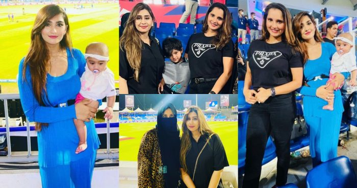 Pakistani Cricketers' Wives Spotted At Stadium – Beautiful Pictures