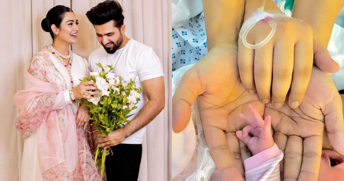 Sarah Khan And Falak Shabir Blessed With A Baby Girl