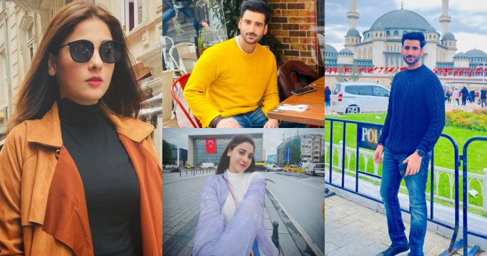 Hina Altaf and Agha Ali Enjoying Vacations in Istanbul