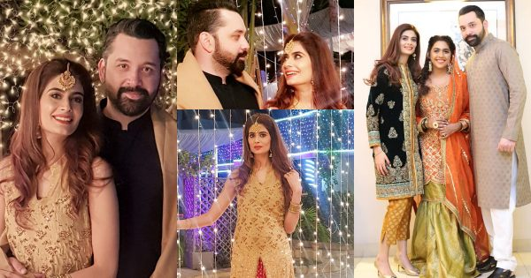 Latest Pictures of Actress Madiha Iftikhar with her Husband