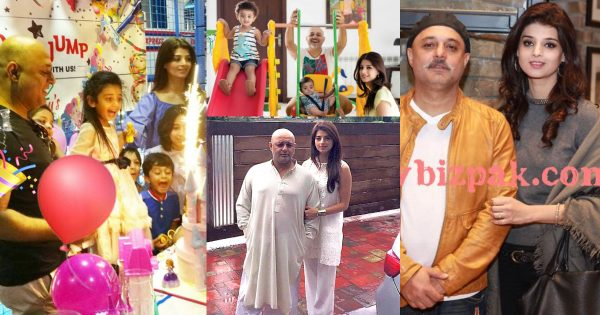 Singer Ali Azmat with his Wife and Kids – Latest Pictures