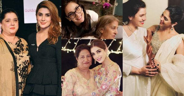 Pakistani Actresses With Their Beautiful Mothers – Latest Clicks