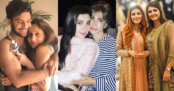 Beautiful Pictures of Pakistani Celebrities with Their Young Looking Mothers