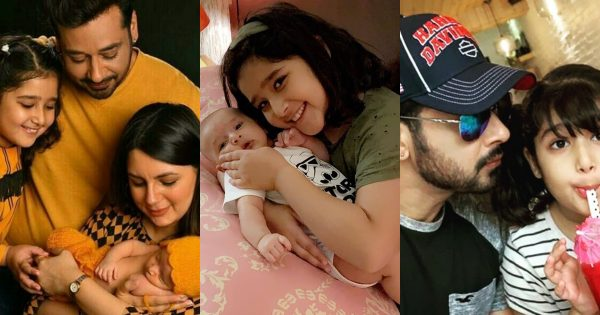 Latest Beautiful Pictures Faysal Qureshi and Sana Faysal with their Kids