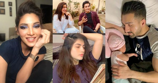 Pakistani Celebrities Latest Pictures from Lock Down Day 10