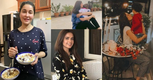 Pakistani Celebrities Latest Pictures from Lock Down Day 8