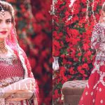 Actress Zubab Rana Latest Beautiful Bridal Shoot