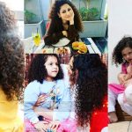 Latest Beautiful Pictures of Singer Annie Khalid with her Daughter