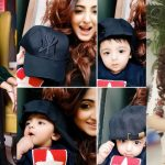 Latest Beautiful Clicks of Actress Fatima Sohail with Her Son