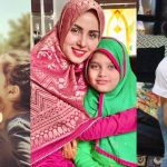 Beautiful Latest Clicks of Nimra Khan with her Little Cute Sister