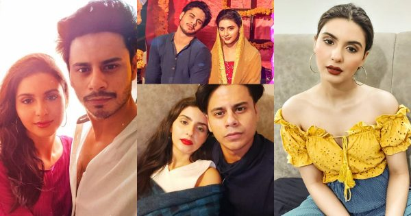 Beautiful Celebrity Couple Haris Waheed and Maryam Fatima Pictures