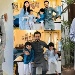 Latest Beautiful clicks of Actor Zahid Ahmed with his Family