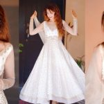 Latest Beautiful Pictures of Aiman Baig in White Dress