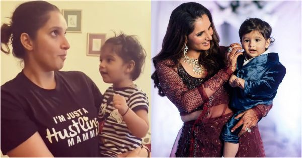 Sania Mirza Shares Beautiful Video Clip With her Son