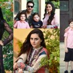 Latest Clicks of Fatima Effendi and Kunwar Arsalan with Sons