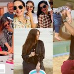 Latest Pictures of Aiman Khan and Muneeb Butt with Daughter Amal