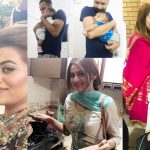 Beautiful Pictures of Actress Benita David with her Husband and Son