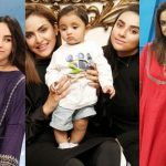 Latest Beautiful Pictures of Nadia Khan with her Daughter