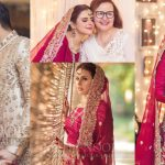 Beautiful Wedding Pictures of Model & Actress Waliya Najib