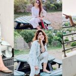 Latest Pictures of Actress Fatima Sohail with her Son