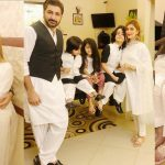 Beautiful Eid Clicks of Syed Jibran with Family