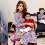 Eid Pictures of Actress Fatima Sohail with her Son