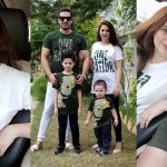 Independence Day Pictures of Fatima Effendi and Kanwar Arsalan with Family