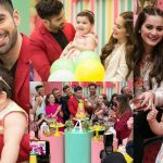 Aiman Khan and Muneeb Butt Daughter Amal's 1st Birthday Party Pictures
