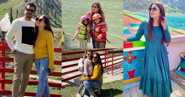 Beautiful Family Pictures of Designer Faiza Saqlain from Hunza Valley