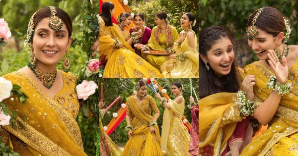 Ayeza Khan is Looking Stunning in Yellow in her Latest Shoot