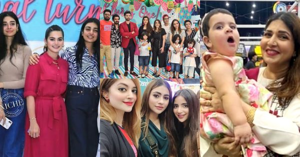 Beautiful Pictures of Showbiz Celebrities from Amal Muneeb Birthday