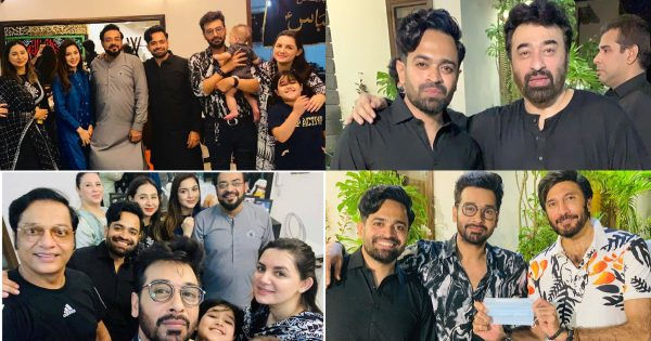 Celebrities Pictures from Niaz Hosted by Actor Naveed Raza