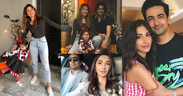 Beautiful Latest Photos of Ali Safina with his Wife Hira Tareen and Daughter