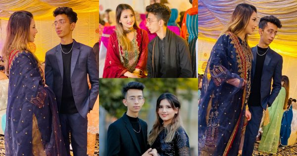 Latest Pictures of Viral Couple Asad and Nimrah at a Recent Wedding