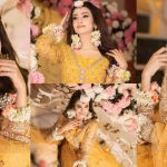 Zarnish Khan is Looking Gorgeous in this Yellow Bridal Dress