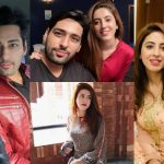 Salman Saeed with his Wife Aleena – Beautiful Pictures