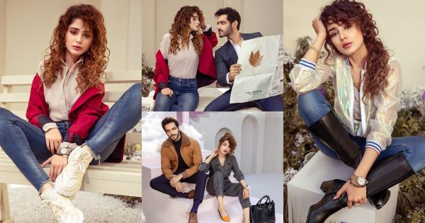 Aima Baig And Wahaj Ali Featured in Shoe Planet Winter Collection 2020